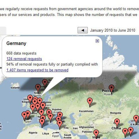 Internet censorship in Germany