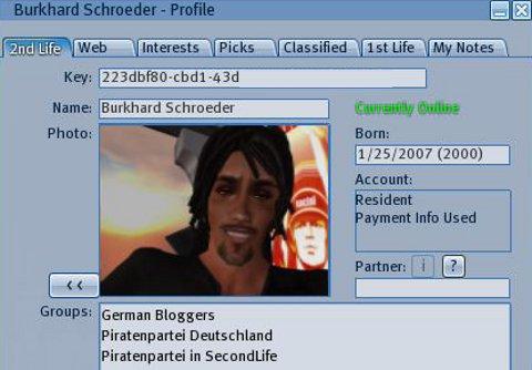 avatar profile