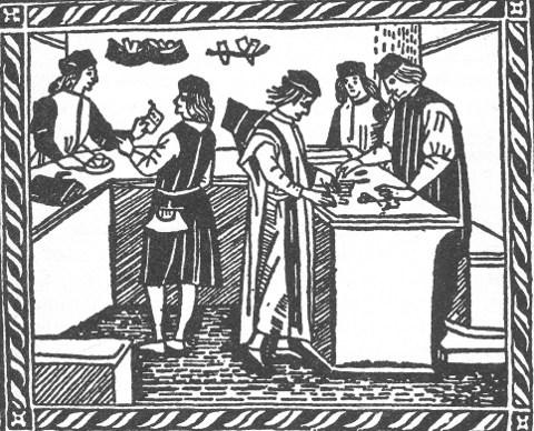 Bank in der Renaissance