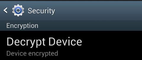 decrypt device