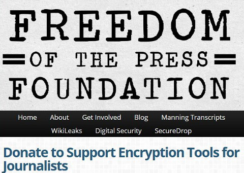Encryption Tools for Journalists
