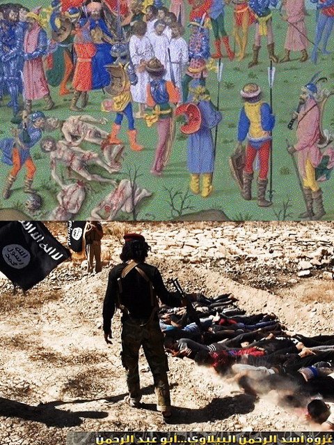 crusaders and ISIS