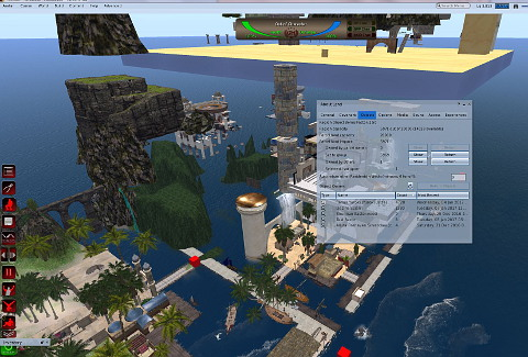 admin feature secondlife