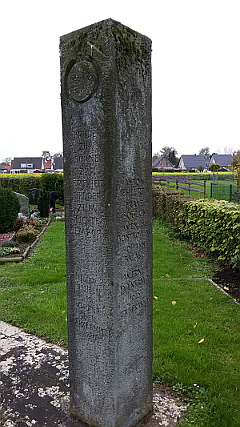 Ehrenmal Kommunalfriedhof Weetfeld