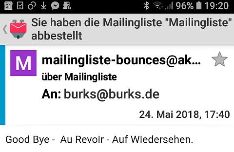 Mailingliste