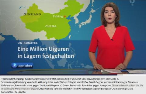 tagesschau Uiguren