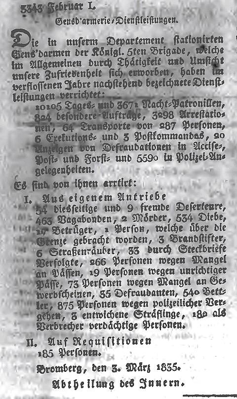 Amtsblatt der Königlichen Preussischen Regierung zu Bromberg