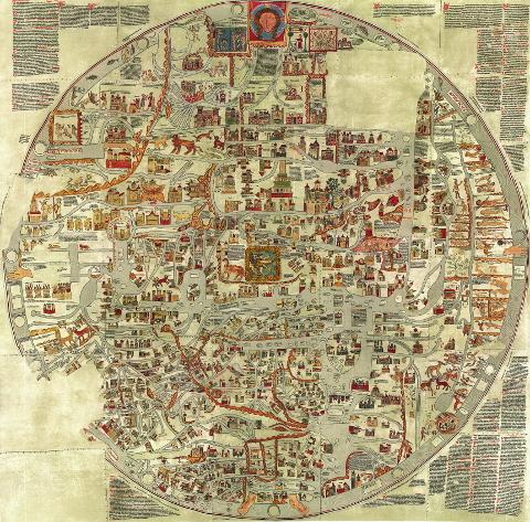 bstorfer Weltkarte