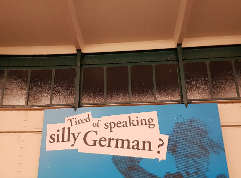 silly german