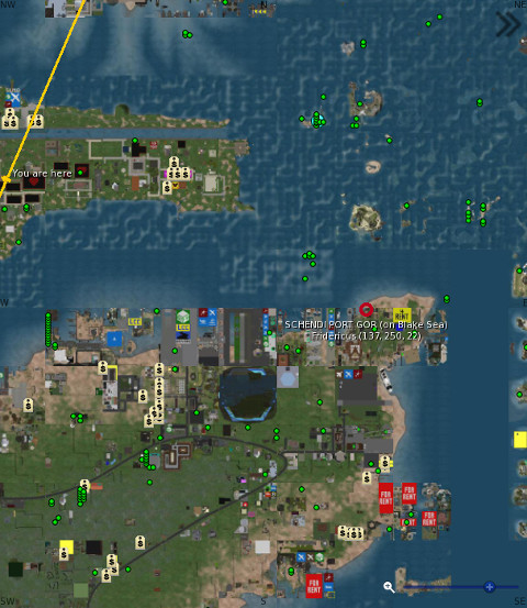 secondlife map