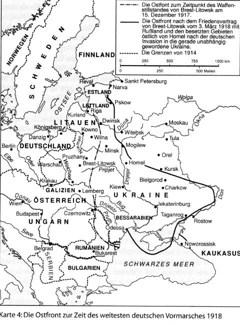 1918 front russland