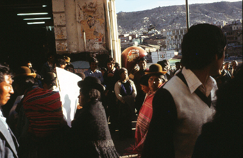 La Paz demonstration