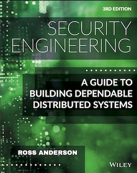 ross anderson Security Engineering