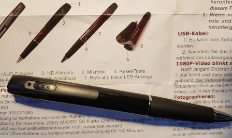 spionage Kugelschreiber