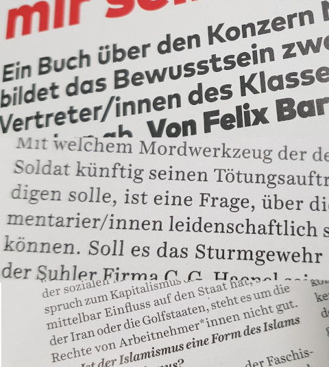 konkret magazin gendersprache