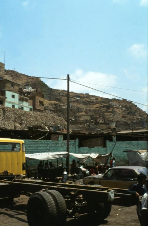 un barrio de Lima