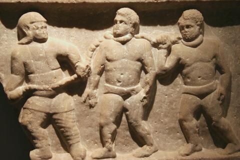 versklavte Kriegsgefangene in Rom