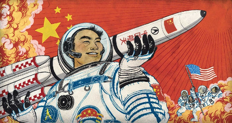 china's race tp space