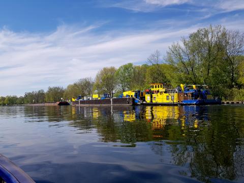 paddeln auf der Havel