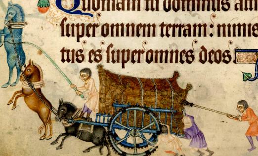 wagen im Mittelalter