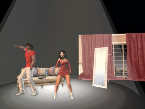 Oasis Dancers second Life