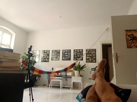 chillen auf dem Sofa