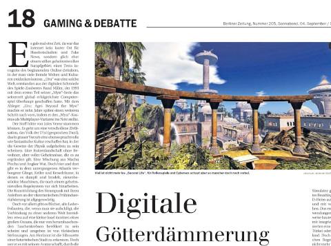gaming und debatte
