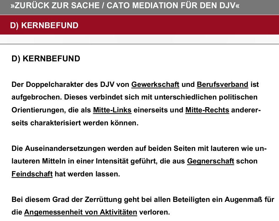 Kernbefund DJV