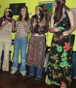 singende hausbesetzer-Kinder
