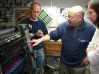 Heinz und seine Druckmaschine